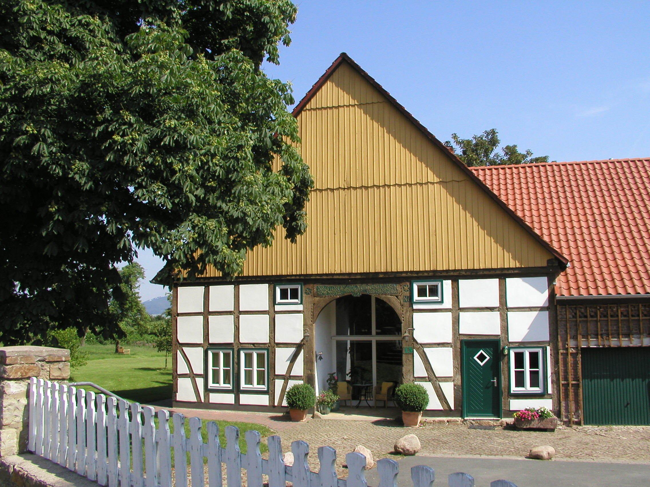 Fachwerkhaus in Hohenrode