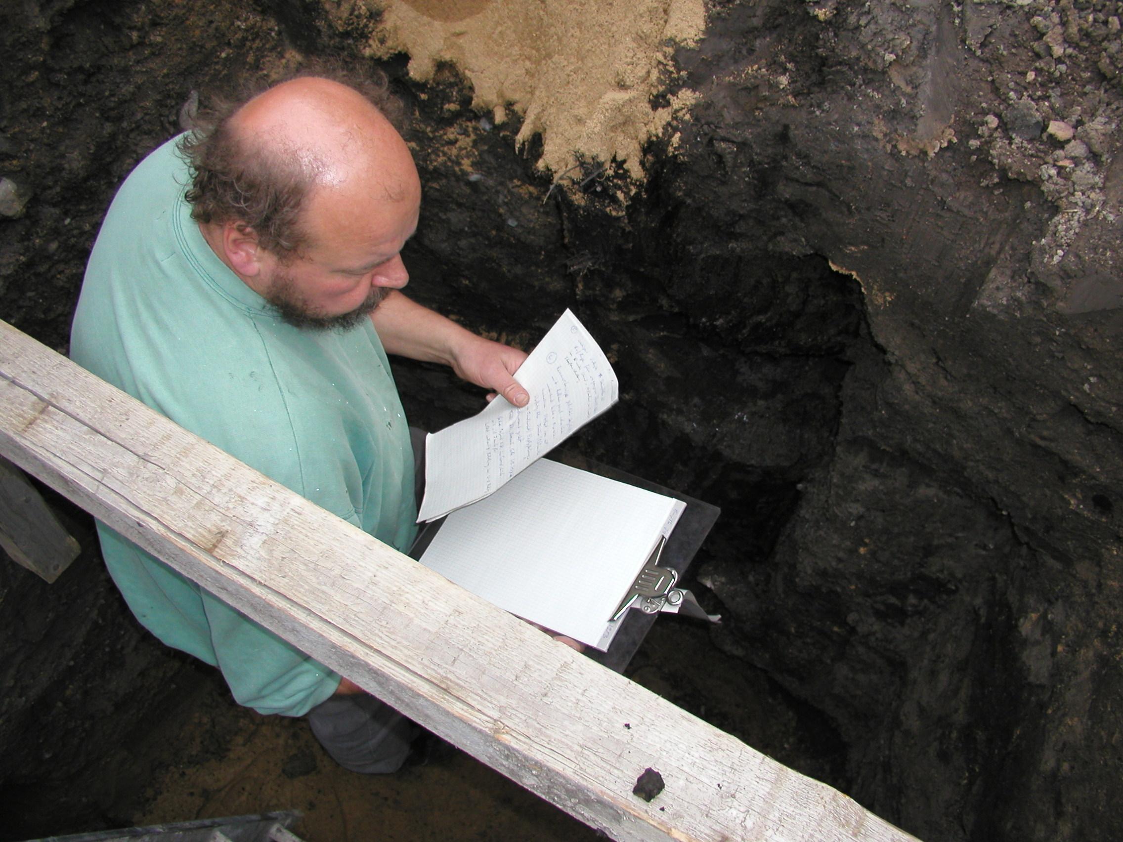 Archäologe Brandorff