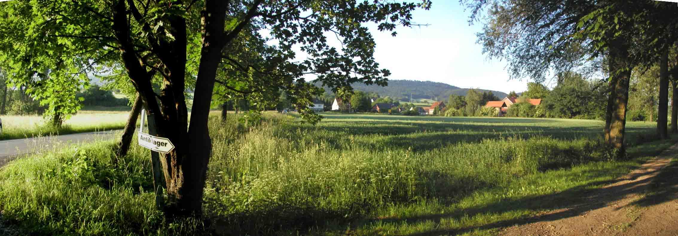 Blick auf die Westendorfer Landwehr