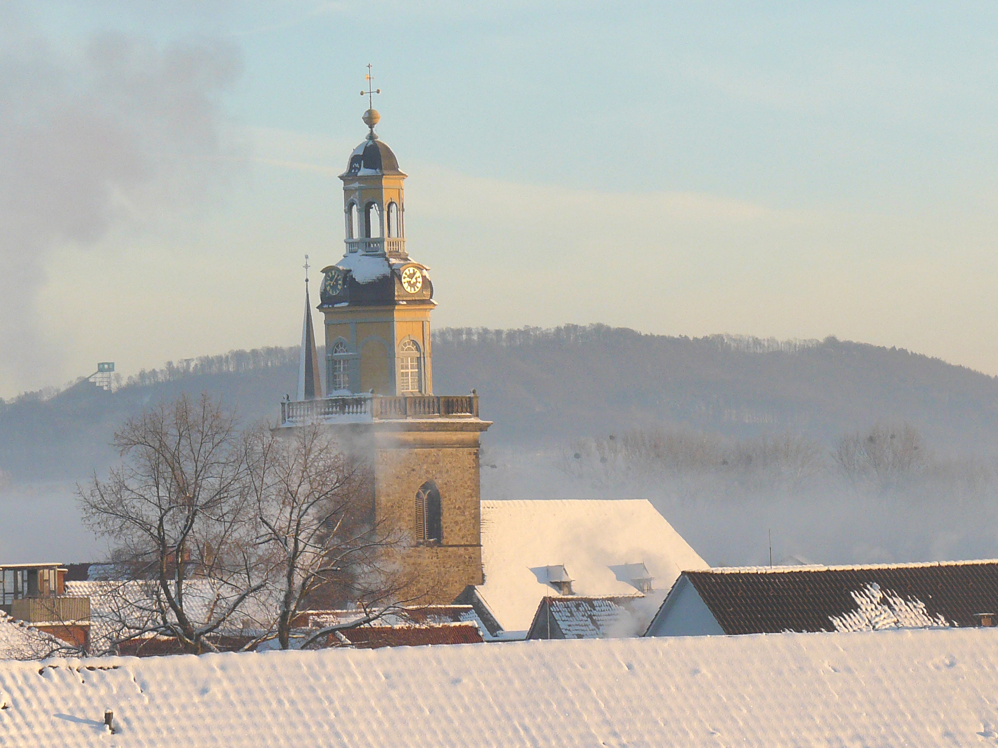St. Nikolai im Winter